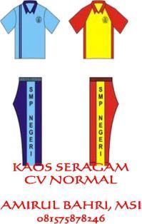 KAOS SERAGAM 7