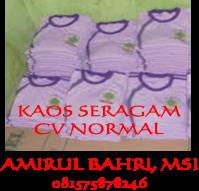 KAOS SERAGAM 8